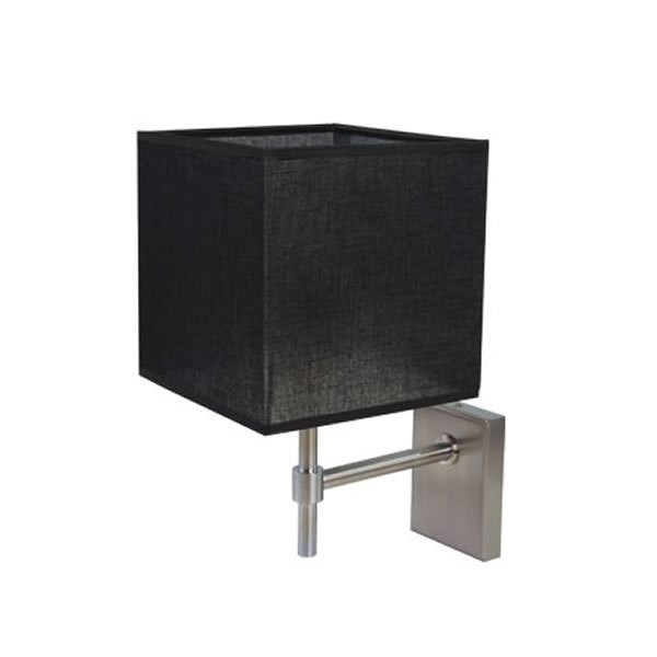 Luminaires chambre design DIZZY Noir, H29cm BROSSIER SADERNE