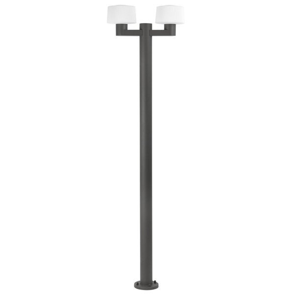 Luminaires de jardin design MUFFIN Anthracite, H211,5cm FARO