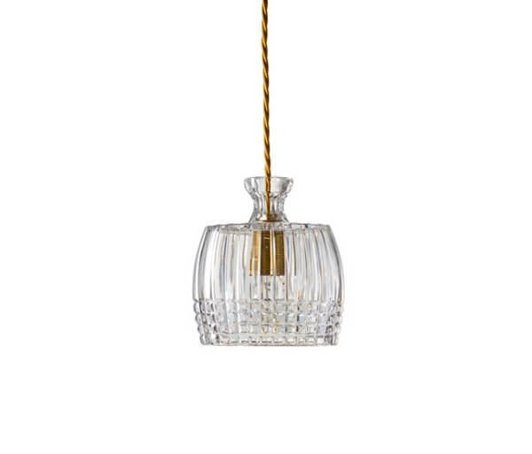 Luminaires salon design JULIAN CRYSTAL Transparent, H16cm EBB&FLOW