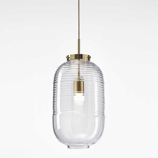 Luminaires entrée LANTERN Transparent, H50.5cm BOMMA