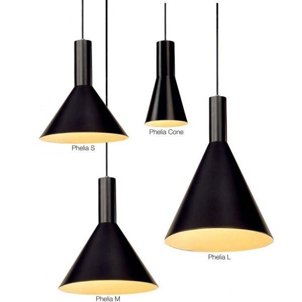 Luminaires salle à manger PHELIA Noir SLV
