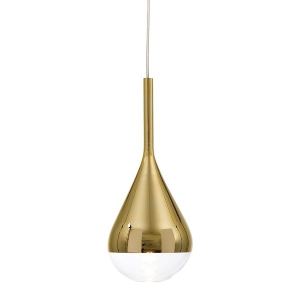 Luminaires chambre design PIANTO Or, H35.7cm BELID