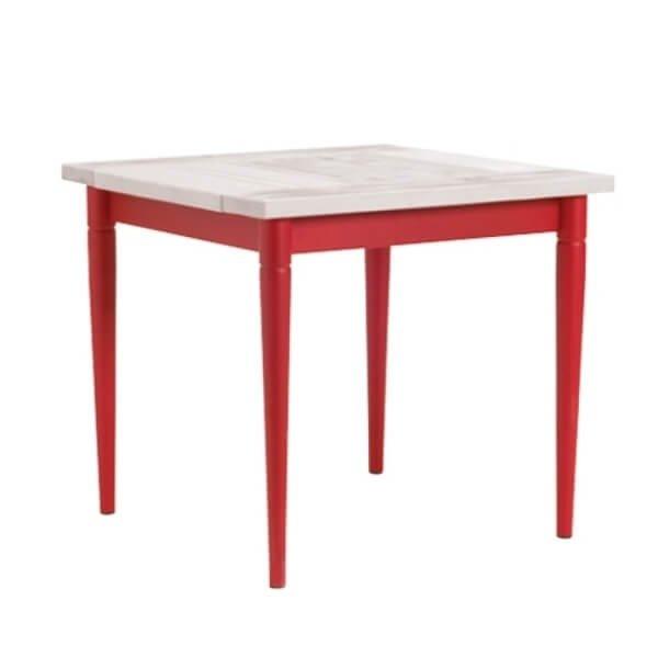 Tables SUNFLOWER Rouge, H75cm VERMOBIL