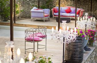 jardin / terrasse / piscine